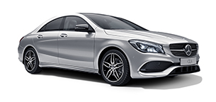 Mercedes-Benz CLA coupé.