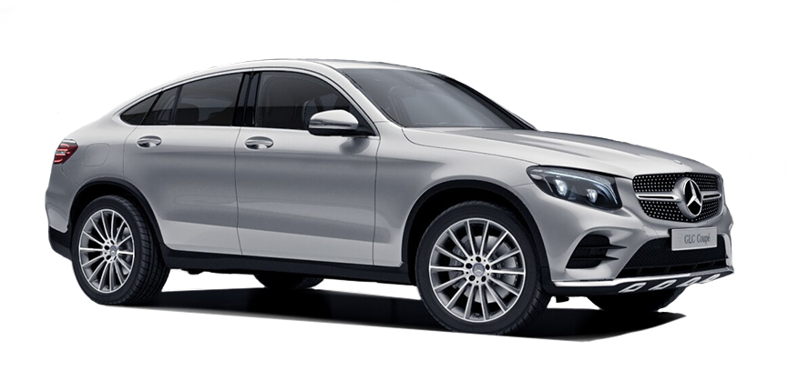 Mercedes GLC coupé.
